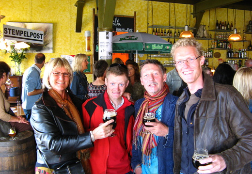 IMG 4299 - Mieke, Paul, Nico and Eelco in Batavia